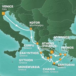 2019-08 oestliches Mittelmeer 11Naechte AZAMARA PURSUIT