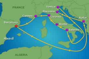 2016-06 Mittelmeer 2/12 Naechte (HARMONY und BRILLIANCE)