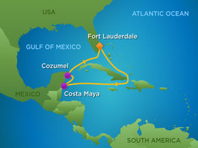 vom 31.3. bis 29.4.2017 Florida-, Karibik- und Transatlantik Tour – INDEPENDENCE