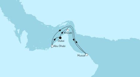 2019-02 7 Naechte Dubai mit Oman (MEIN SCHIFF 4)
