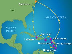 16 Nächte 9.4. bis 25.4.2015 New York und Karibik – QUANTUM of the SEAS