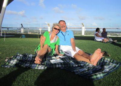 Wein & Tapas mit Lifemusik - Bye Bye traumhaftes Bonaire